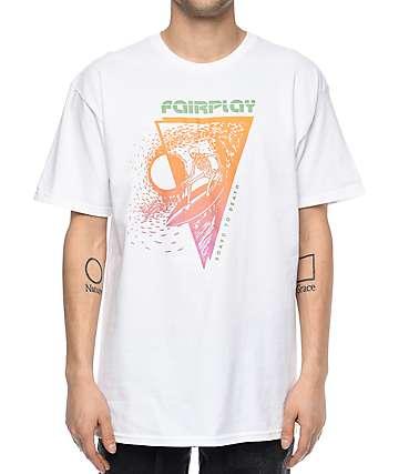 Fairplay Skully camiseta blanca