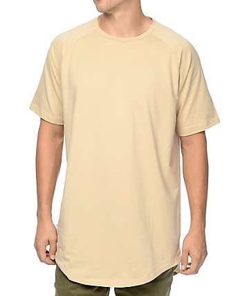 Fairplay Venice Light Tan Raglan Tall T-Shirt