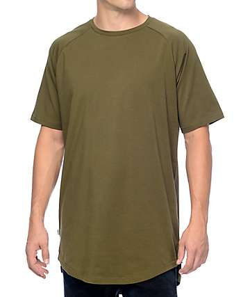 Fairplay Venice Olive Raglan Tall T-Shirt