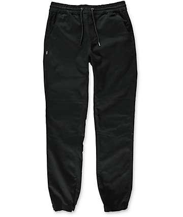 Fairplay Vischer Moto pantalones jogger en negro