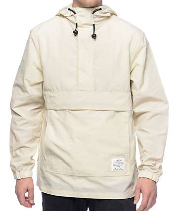 Fairplay Willoughby Cream Anorak Jacket