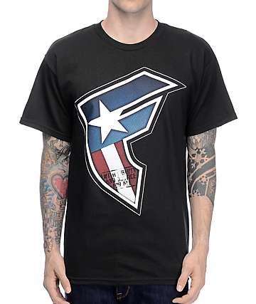 Famous Justice camiseta negra