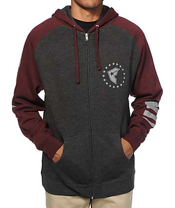 Famous Stars & Straps Cash Flow Zip Up Hoodie