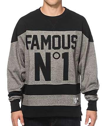 Famous Stars & Straps Hat Trick Crew Neck Sweatshirt