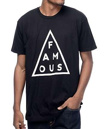 Famous Stars & Straps Mass Black T-Shirt