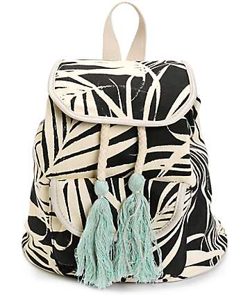 Fantasia Palm Leaf Rucksack Backpack