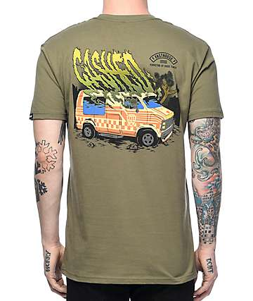Fasthouse Cashed Olive T-Shirt