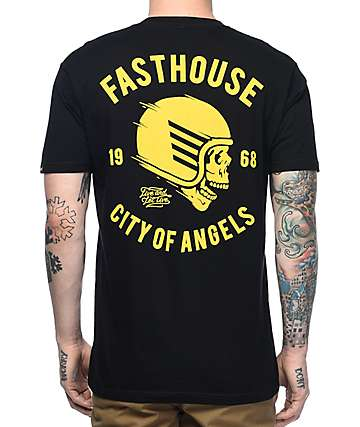 Fasthouse Rebel Black T-Shirt