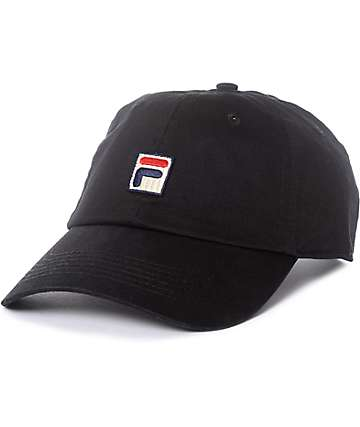 Fila Black Baseball Hat