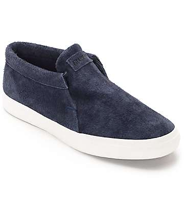 Filament Grafton Navy & White Skate Shoes
