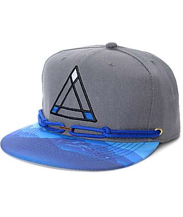 Findlay Blue Spring Grey & Blue Snapback Hat