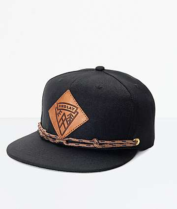 Findlay Lockport gorra snapback en negro