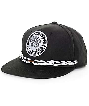 Findlay Shere Khan Black Snapback Hat