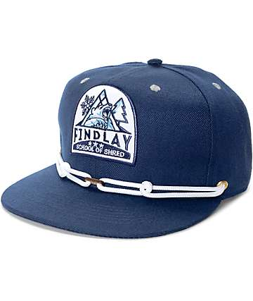 Findlay Shred School Blue Snapback Hat