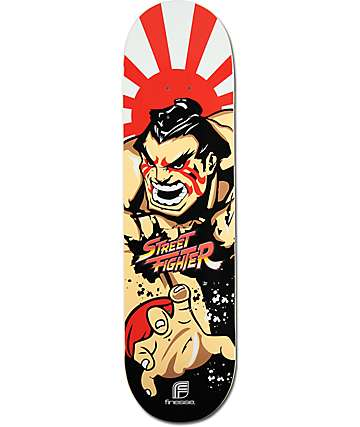 "Finesse E. Honda 8.25""  Skateboard Deck"