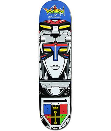 "Finesse Voltron Head 7.75"" Skateboard Deck"