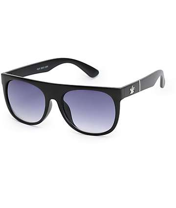 Flat Top Solo Leaf Sunglasses