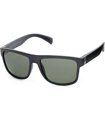 Flat Top gafas de sol negro mate