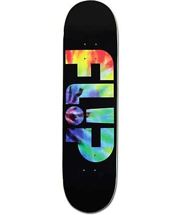 """Flip Odyssey Tie Dye 8.0"""" Skateboard Deck"""