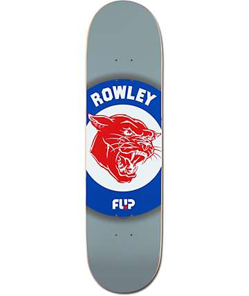 "Flip Rowley Wildcat 8.25"" Skateboard Deck"