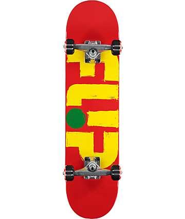 "Flip Team Odyssey Stroked Brick 7.25"" Skateboard Complete"