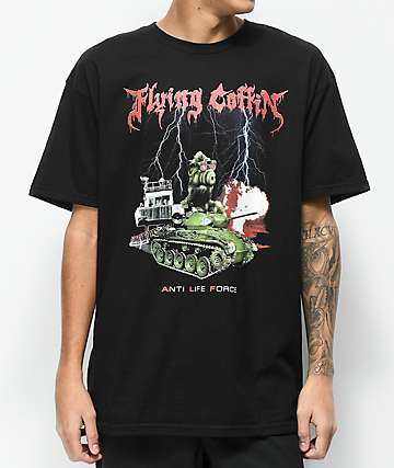 Flying Coffin A.L.F Black T-Shirt