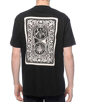 Flying Coffin Ace Of Spades T-Shirt