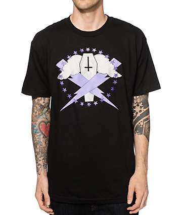Flying Coffin Bolts Logo T-Shirt