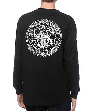 Flying Coffin Heaven & Hell Long Sleeve T-Shirt