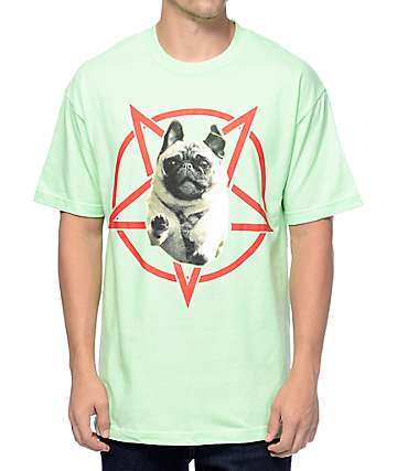 Flying Coffin Hell Hound 2 Mint T-Shirt