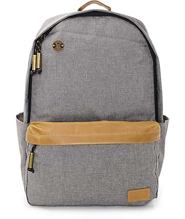 Focused Space Board of Education Grey Backpack