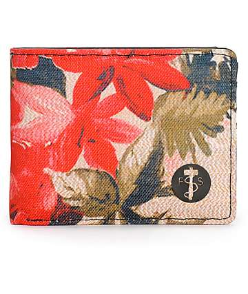 Focused Space Chronicle Floral Bifold Wallet