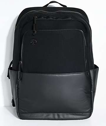 Focused Space The Barricade Black Backpack