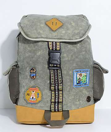 Focused Space The Trailblazer Olive Backpack
