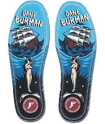 Footprint Kingfoam Dane Burman Hi Profile Insoles
