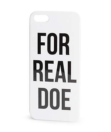 For Real Doe iPhone 5 Case