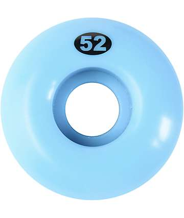 Form 52mm Solid Ocean Blue Skateboard Wheels