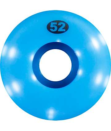 Form Blue 52mm Skateboard Wheels