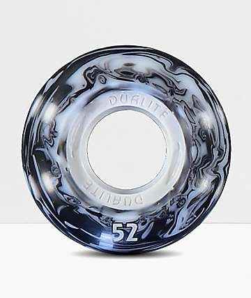 Form Dualite White and Black Swirl 52mm ruedas de skateboard