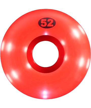 Form Red 52mm Skateboard Wheels