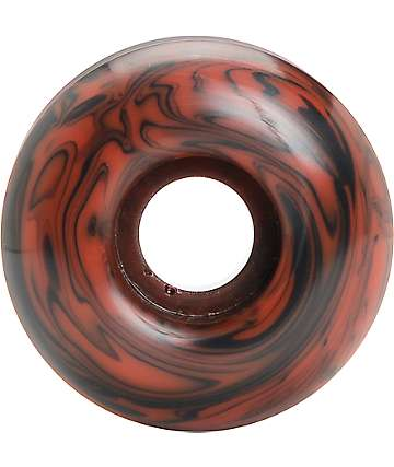 Form Wheels Red & Black Swirl 52mm Skateboard Wheels