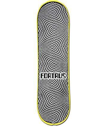 "Fortrus Checkered 32.5"" Yellow Snowskate"