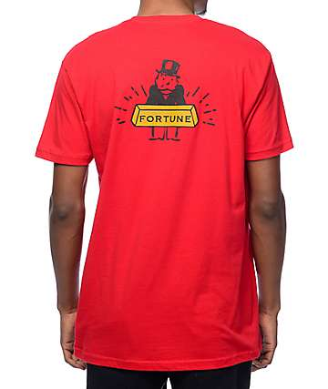 Fortune Banker Red T-Shirt