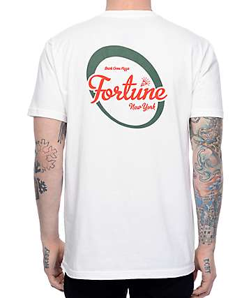 Fortune Brick Oven White T-Shirt