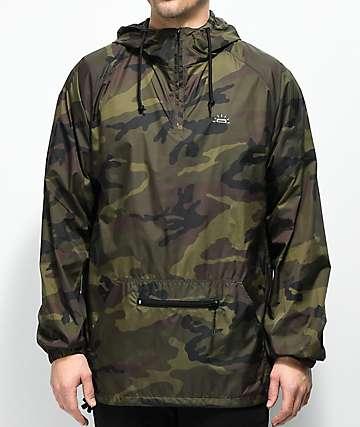 Fortune Camo Anorak chaqueta contravientos