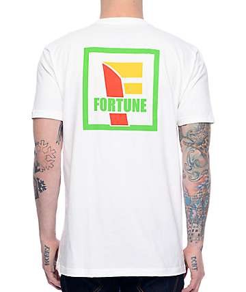 Fortune Convenient White T-Shirt