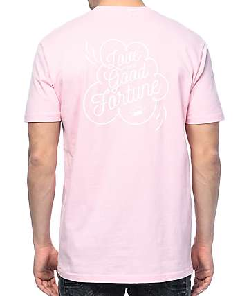 Fortune Love & Good Fortune Pink T-Shirt