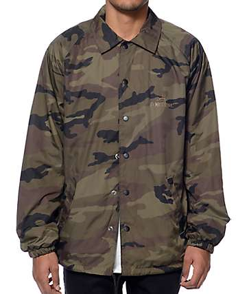 Fortune NY Camo Coach Jacket