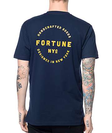 Fortune Seal Navy T-Shirt