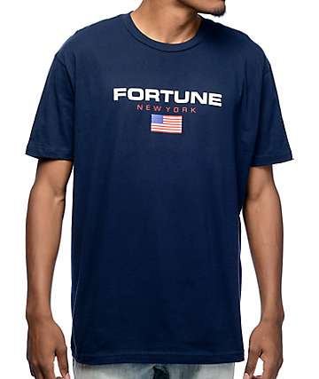 Fortune Sport Navy T-Shirt